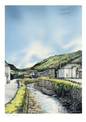 All Tranquil Now, Boscastle - Print