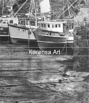 JRHtff - The Fishing Fleet - Pencil