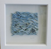 Fish shoal - Framed ceramic scene