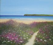 Pentire from Tregirls - Acrylic