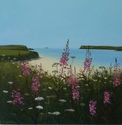 St George's Well Cove, Padstow - Acrylic