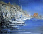 Safe Harbour, Padstow - Acrylic