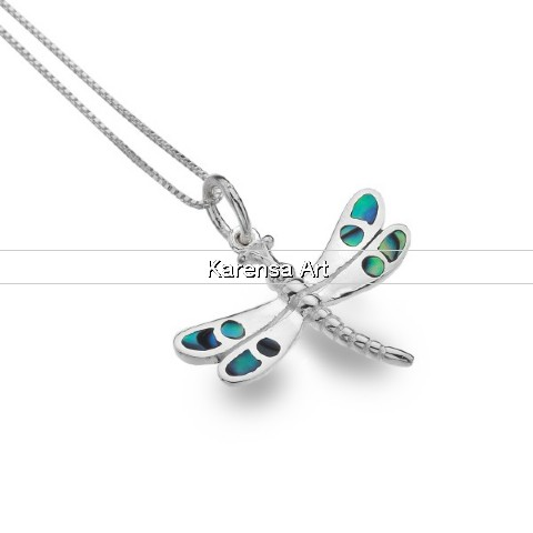 SGSDF - Silver Dragonfly Necklace