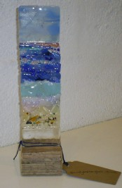 Sea Squall - Fused Glass